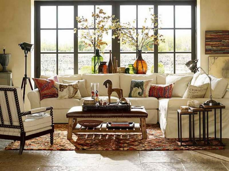 African Style Living Room Decoration