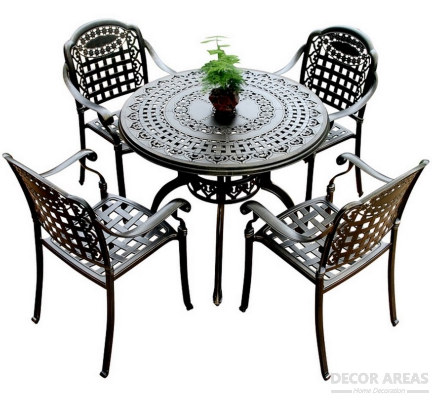 Aluminum Table And Chair Sets
