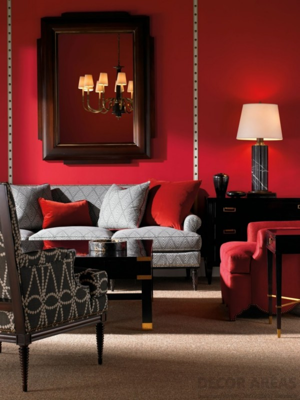 Red Wall Decoration
