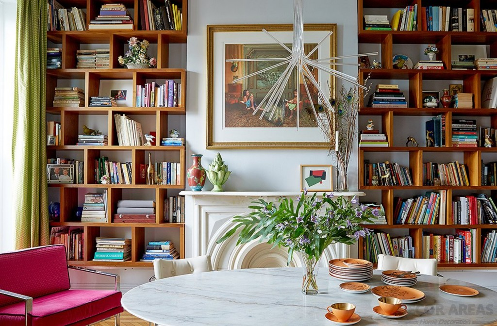 Bookcase Decoration