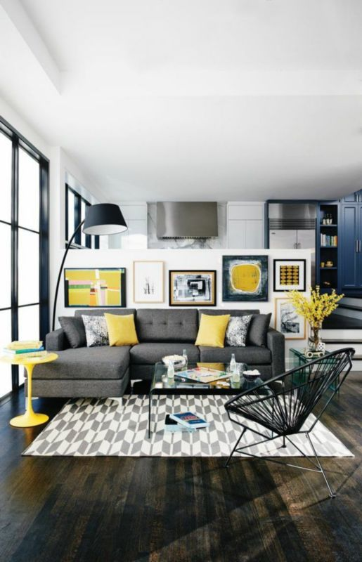 How To Decorate The Gray Sofa Set