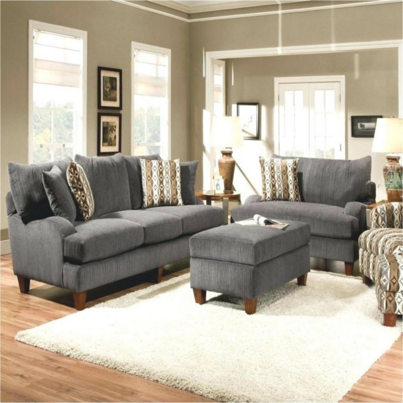 How To Decorate The Gray Sofa Set? Sports Gray Sofa Set Decoration